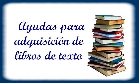 Ayudas de libros curso 2018-2019