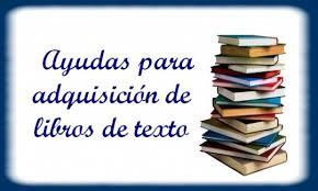 Ayudas de libros curso 2019-2020