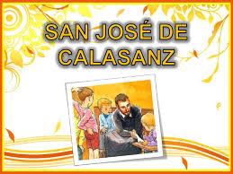 San José de Calasanz: viernes 29 de noviembre