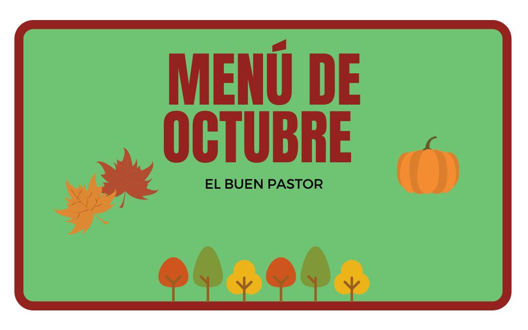 Menú de Octubre
